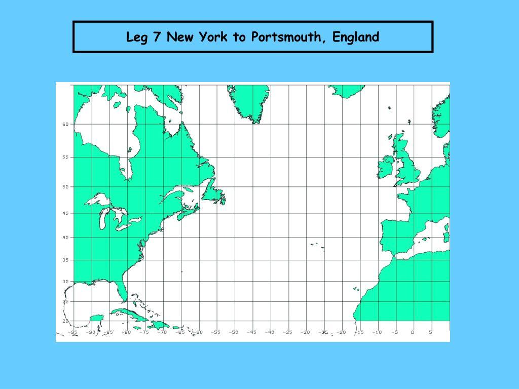 Leg 7 New York to Portsmouth, England