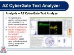 az cybergate text analyzer