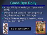 good bye dolly