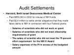 audit settlements2