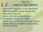 the sj leader team member