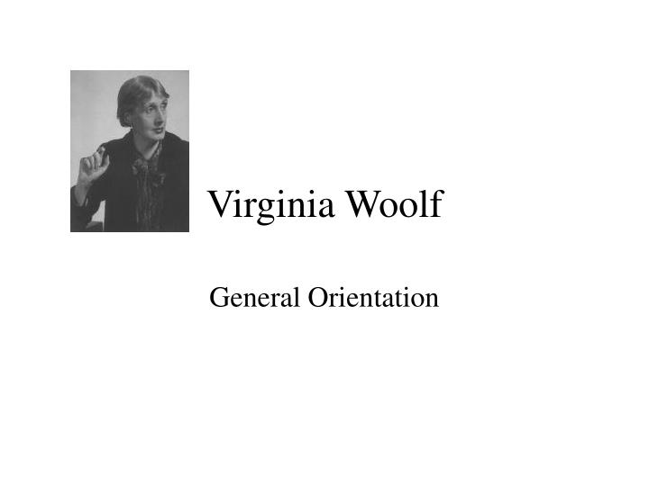 virginia woolf n.