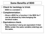 some benefits of bdd