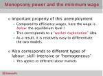 monopsony power and the minimum wage3