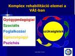 komplex rehabilit ci elemei a v i ban