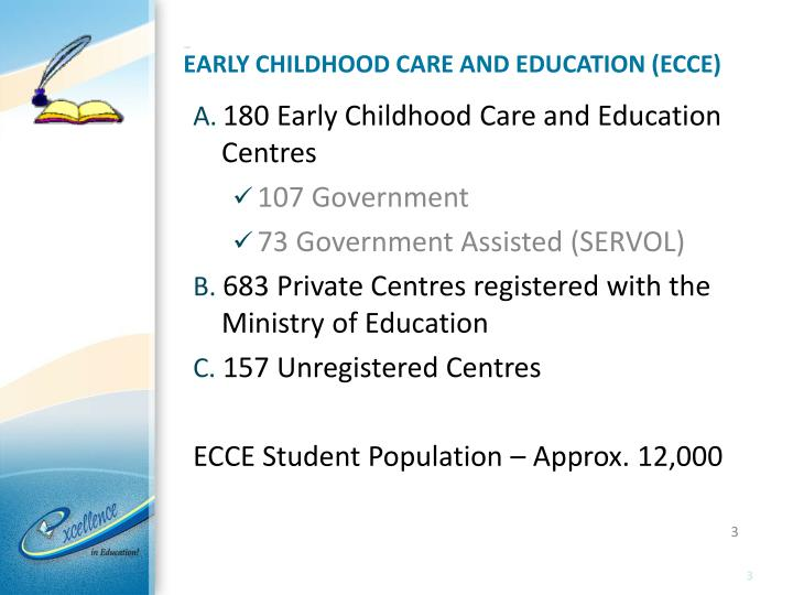 Early childhood care and education ecce