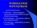 wodog owie wewn trzne