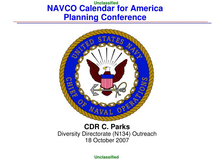 navco calendar for america planning conference n.