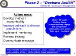 phase 2 decisive action enterprise community engagement