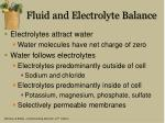 fluid and electrolyte balance1