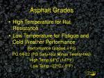 asphalt grades