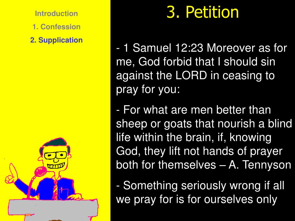 3. Petition