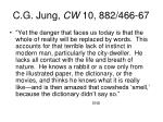 c g jung cw 10 882 466 67