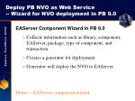 deploy pb nvo as web service wizard for nvo deployment in pb 9 0