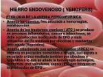hierro endovenoso venofer1