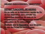 hierro endovenoso venofer2
