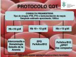 protocolo cot