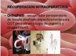 recuperacion intraoperatoria1