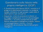 questionario sulla fiducia nella propria intelligenza qc2f