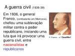 a guerra civil 1936 39