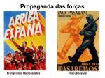 propaganda das for as