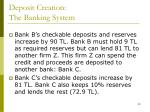 deposit creation the banking system2