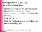 saving a worksheet list as a pivottable list4