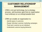 customer relationship management1