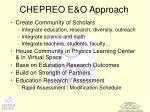 chepreo e o approach