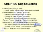 chepreo grid education