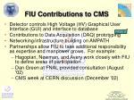 fiu contributions to cms