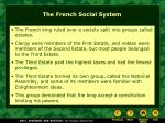 the french social system