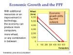 economic growth and the ppf