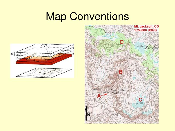 map conventions n.