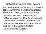 critical environmental factors1