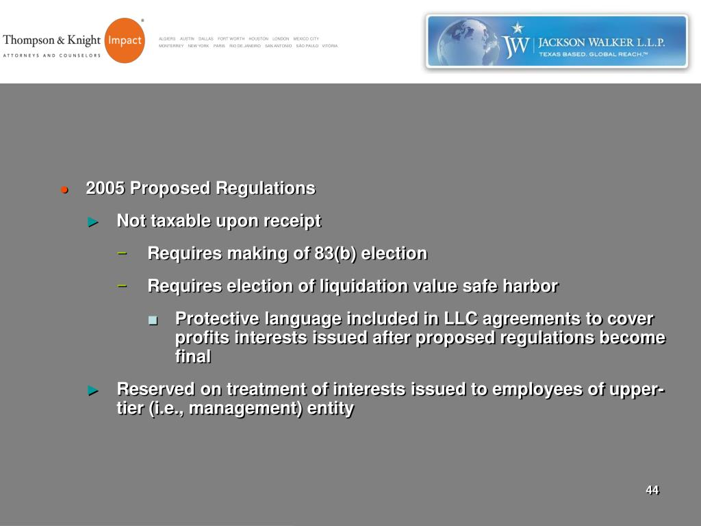 2005 Proposed Regulations