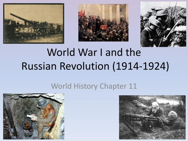 world war i and the russian revolution 1914 1924 n.