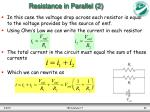 resistance in parallel 2