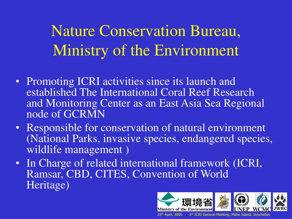 Nature Conservation Bureau, Ministry of the Environment