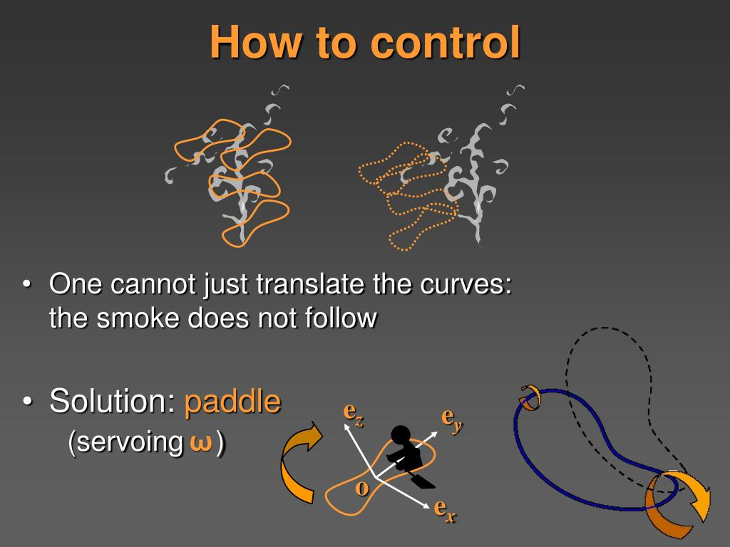 How to control