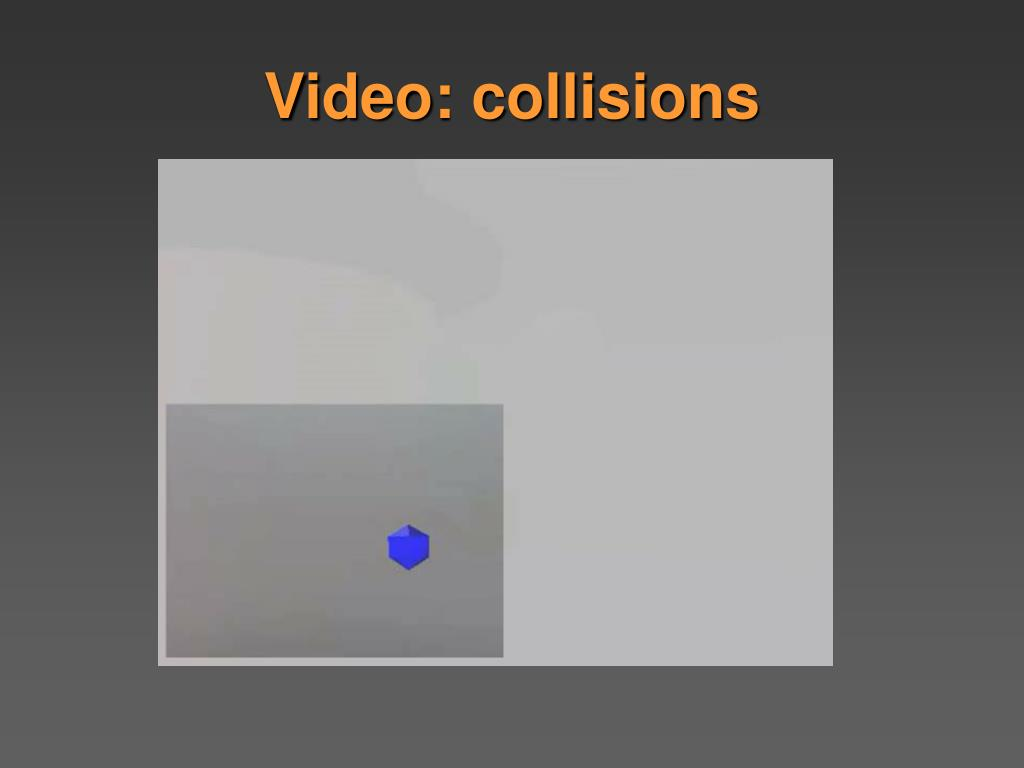 Video: collisions