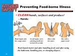 preventing food borne illness1