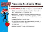 preventing food borne illness5