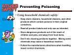 preventing poisoning