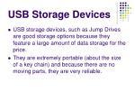 usb storage devices