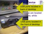using a usb storage device with your desktop computer