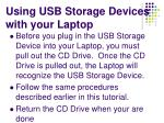 using usb storage devices with your laptop