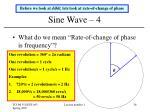 sine wave 4