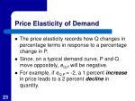 price elasticity of demand1