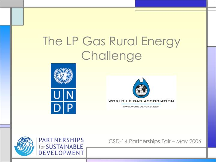 the lp gas rural energy challenge n.